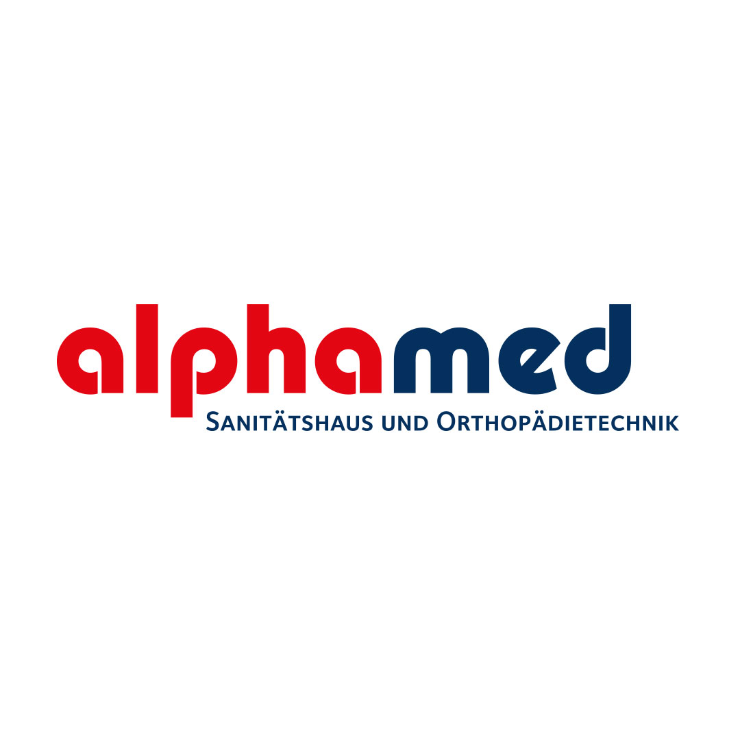 alphamed Corporate Design Logo