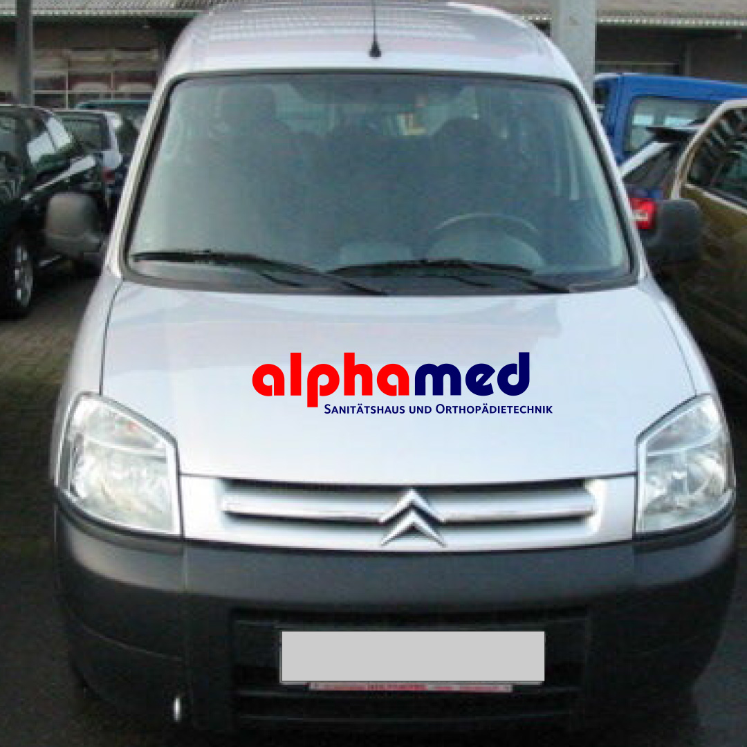 alphamed Corporate Design Autobeschriftung 2