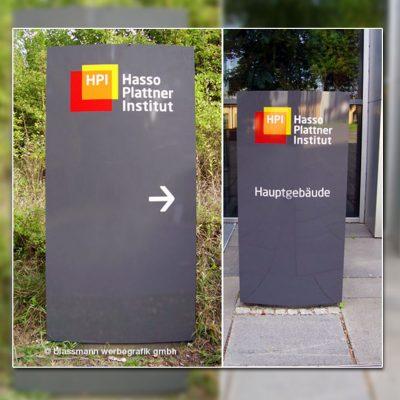 Wegeleitsystem Pylon - Hennigsdorfhasso Plattner Institut