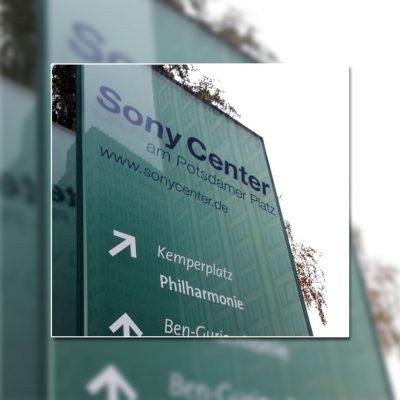 Wegeleitsysteme - Sony Center Berlin