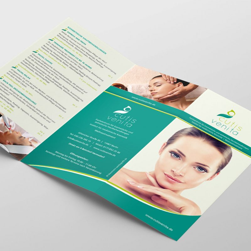 cutis venita Corporate Design