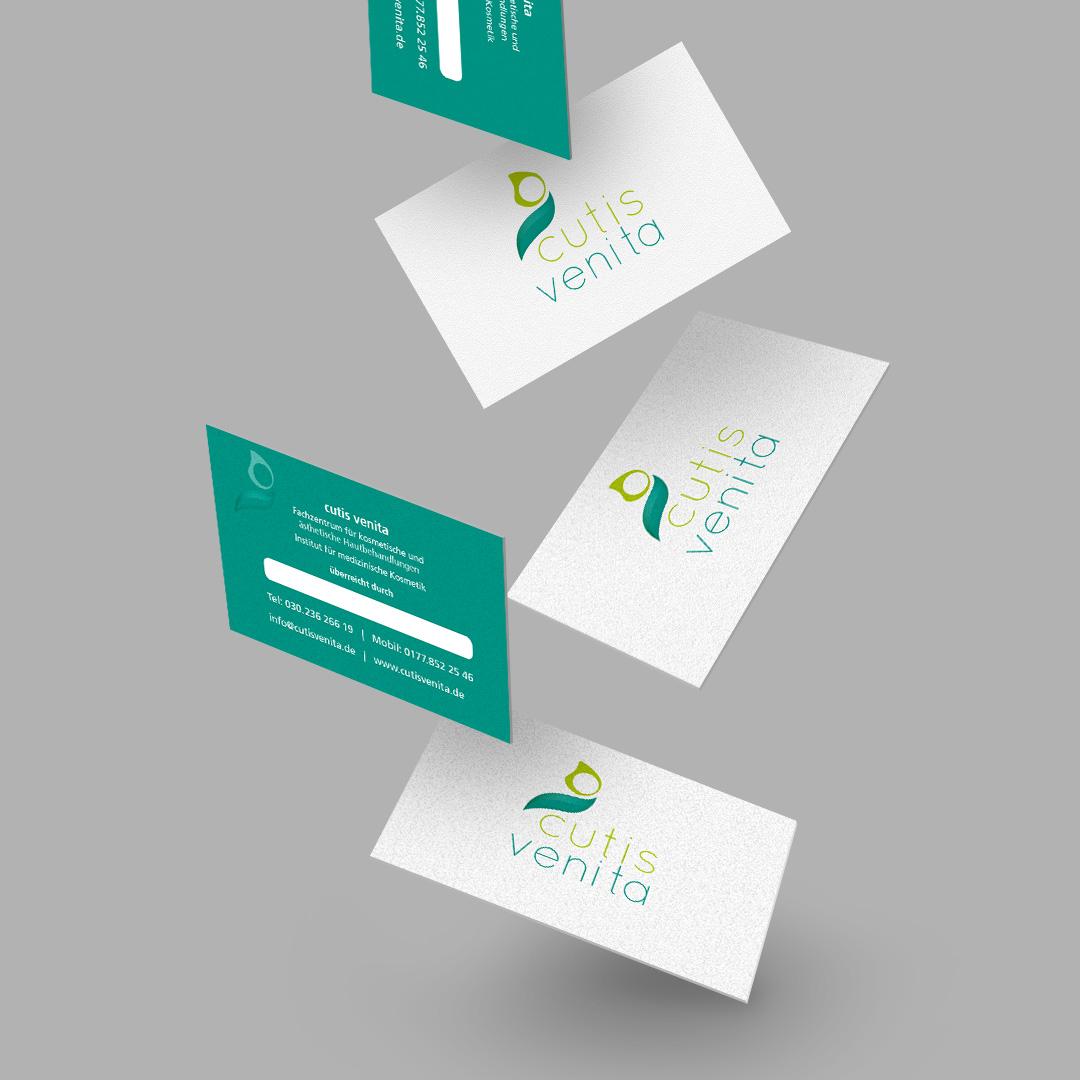 cutis venita Corporate Design VK