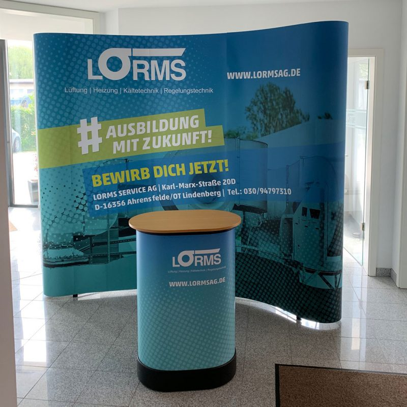 Lorms Messestand