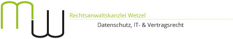 Rechtsanwaltskanzlei Wetzel Logo