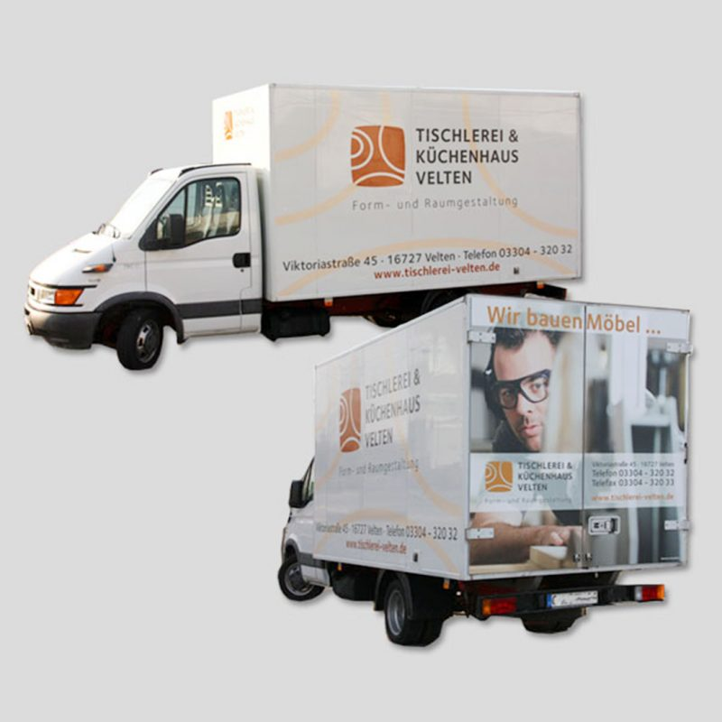 shortcare klinik logo corporate-design Autobeschriftung