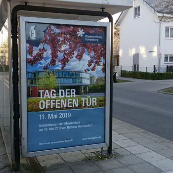 SV Hdf Tag der offenen Tür City Light Plakat